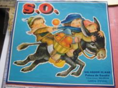 2 Chromolitho Labels Naranjas Oranges Donkey Ezel ANE, Pons Valencia, OLASO GANDIA  Espagne SPAIN ESPANA  Litho  C1890 - Espagne