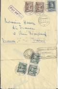 POLOGNE - 1934 - ENVELOPPE Par AVION De VARSOVIE => PARIS - POSTE AERIENNE - Airmail