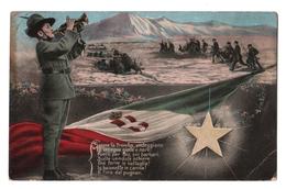 WWI - CARTOLINA PROPAGANDISTICA - REGNO D' ITALIA 1916 - Guerra 1914-18