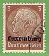 MiNr.1 O Deutschland Besetzte Gebiete II.WK Luxemburg - Besetzungen 1938-45