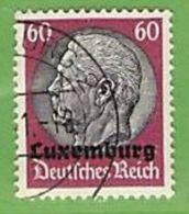 MiNr.14 O Deutschland Besetzte Gebiete II.WK Luxemburg - Bezetting 1938-45