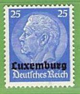 MiNr.10 Xx Deutschland Besetzte Gebiete II.WK Luxemburg - Occupazione 1938 – 45