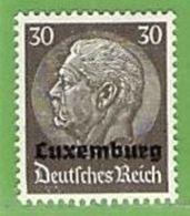 MiNr.11 Xx Deutschland Besetzte Gebiete II.WK Luxemburg - Besetzungen 1938-45