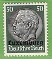 MiNr.13 Xx Deutschland Besetzte Gebiete II.WK Luxemburg - Besetzungen 1938-45