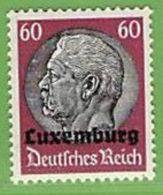 MiNr.14 Xx Deutschland Besetzte Gebiete II.WK Luxemburg - Occupazione 1938 – 45