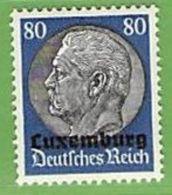 MiNr.15 Xx Deutschland Besetzte Gebiete II.WK Luxemburg - Besetzungen 1938-45