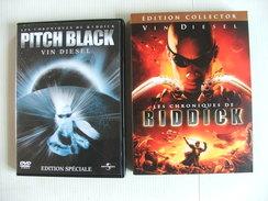Les Chroniques De Riddick Collector 2 Dvds Pitch Black 1 Dvd Vin Diesel - Sciencefiction En Fantasy