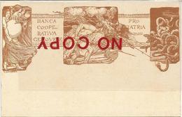Prestito Nazionale, Prima Guerra Mondiale, Illustratore Bevilacqua, Banca Cooperativa Genovese, Pro Patria. - Patriottisch