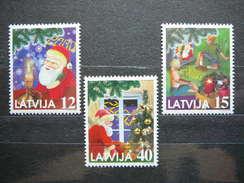 Christmas. Latvia Lettland Lettonie 1999 ** MNH # Mi. 514/6 - Lettonie