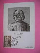 Carte-Maximum    N° 769 Jean Charlier Dit Jean Gerson 1944 - Maximumkarten