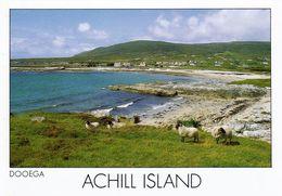 1 AK Irland * Blick Zum Dorf Dooega Auf Der Insel Achill Island  - County Mayo *