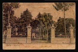 URUGUAY Rocha Tarjeta Postal Antigua Cementerio Graveyard Cimetière Ca1900 Postcard (W4_3277) - Uruguay