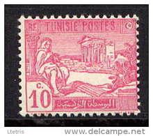 TUNISIE  - N° 100** - JOUEUR DE PIPEAU - Tunisia (1888-1955)