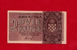 CROATIA - HRVATSKA - 2 Kune NDH WW2 - Croatia