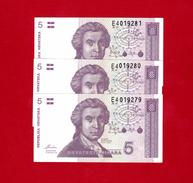 Croatia 20 Kuna p-44 2014 Commemorative Croatia 20th anniversary UNC Banknote