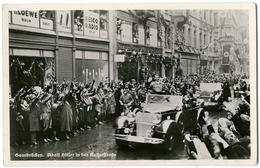 CARTE PHOTO SAARBRÜCKEN - ADOLF HITLER IN DER KAIRSERSTRASSE - 1 MARZ 1935 - Saarbruecken