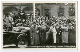 CARTE PHOTO SAARBRÜCKEN - ADOLF HITLER  - 1 MARZ 1935 - Saarbruecken
