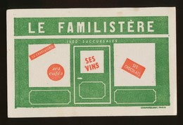 Buvard  -  LE FAMILISTERE - Buvards, Protège-cahiers Illustrés