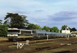 ACACF 235 - TGV Atlantique Remorqué Par La Loco CC 72064 En Gare - CLISSON - Loire Atlantique 44 - SNCF - Clisson