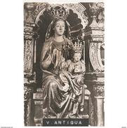 TLDTPA2880CPA-LFTD5404TBES.Tarjeta Postal DE TOLEDO.ARTE,Religion,escultura De LA VIRGEN DE LA ANTIGUA En MORA - Esculturas