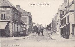 Bailleul (59) - La Rue De La Gare - France