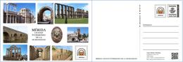 Tarjeta Postal Prefranqueada: Mérida, Ciudad Patrimonio De La Humanidad - Tarifa A - Interi Postali