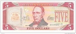 LIBERIA   5 Dollars   2003   P. 26a   UNC - Liberia