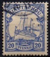 CHINE - KIAO-TCHEOU - Concession Allemande - 20 P. De 1900 Oblitéré - Colonie: Kiautchou