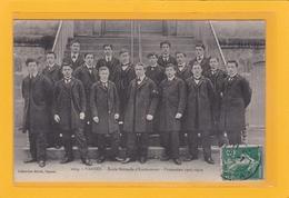 VANNES -56- EDUCATION - ECOLES - METIERS - INSTITUTEURS - Ecole Normale D'Instituteurs - Promotion 1907-1910 - Animation - Vannes