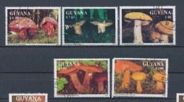 Guyana/Guyane 1991 Mi: 3680-3684 Yt:  (Gebr/used/obl/o)(1622) - Guyana (1966-...)