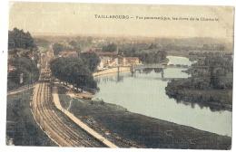 -17------  TAILLEBOURG  Vue Panoramique Les Rives De La Charente - Papier Toilé TTB - Autres Communes