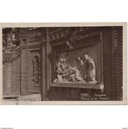 TRLTPA2611CPA-LFT6310TBES.Tarjea Postal De TERUEL.ARTE.Escultura,cuadro LOS AMANTES DE TERUEL - Esculturas