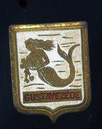 Ancien Insigne émaillé Gustave Zédé  -- Fabrication Augis  Ins4 - Marine