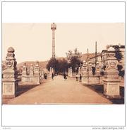 VCYTPA4037CPA-LFTD9739TBES.Tarjeta Postal De VIZCAYA.Edificios,ARTE.escultura Y ENTRADA AL PASEO DE VOLANTIN  En BILBAO - Esculturas