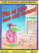 PAS DE SIDA POUR MISS POIREAU, Par MANDRYKA Et MOLITERNI, Edité Pour GIPHAR Vers 1990 - Livres, BD, Revues