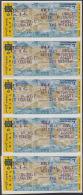 ISRAEL: YVERT DISTRIBUTEUR N° D 29 -  BANDE DE 10 COMPLET - NEUFS XX (8929) - Franking Labels
