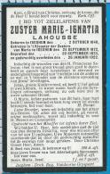 Bp   Zuster    Lahousse   Iseghem - Devotieprenten