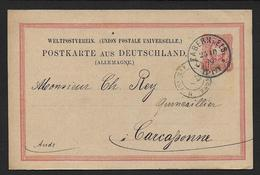 Bas Rhin - Cachet Allemand  De ZABERN - Marcophilie (Lettres)