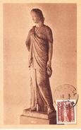 Carme Maximum-Premier Jour Du Timbre N°Yvert 281-Cherchell 10/3/1952 - Cartoline Maximum