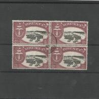 Brunei. Insel / Viererblock, Nr. 91 Gestempelt - Brunei (1984-...)