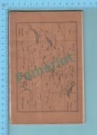 1906, Armee Suisse - Schweizerische Armee, Karte Zu Den Manovern Des IV Armeecorks -  8 Scans - Army & War