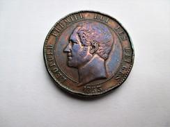 Belgium  10 Cent 1853   Leopold  , Wiener - 1831-1865: Léopold I