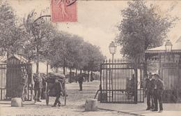 75. PARIS. CPA ANIMÉE TRES RARE.  PORTE DE CHOISY. ANNÉE 1905 - Arrondissement: 13