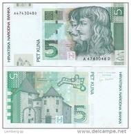 Croatia - 5 Kuna 2001 UNC Lemberg-Zp - Croatia