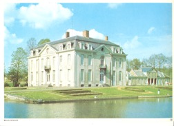 Photo ( Format A4) Du Château De LEEUWERGEM (Oudenaarde )- Fiche Didactique Au Verso - Edition ELF Carburant - Collections