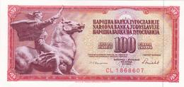 Yugoslavia , SFRJ  100  Dinara 1986 - Yugoslavia