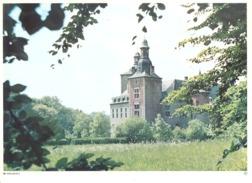 Photo ( Format A4) Du Château De MIELMONT ( Namur )- Fiche Didactique Au Verso - Edition ELF Carburant - Sammlungen