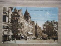 DEUTSCHLAND      -    DUSSELDORF     - PLACE DE LA GARE     TTB - Duesseldorf