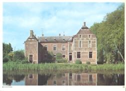 Photo ( Format A4) Du Château De SCHOONBEEK ( Hasselt )- Fiche Didactique Au Verso - Edition ELF Carburant - Sammlungen