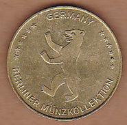 AC - BRANDENBURGER TOR GERMANY BERLINER MUNZKOLLEKTION TOKEN JETON - Monétaires/De Nécessité